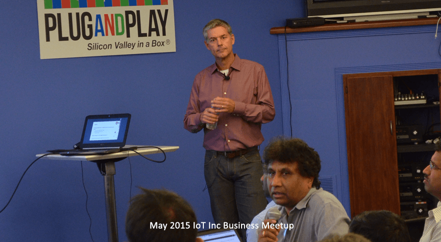 Internet of Things Business Meetup with Bruce Sinclair