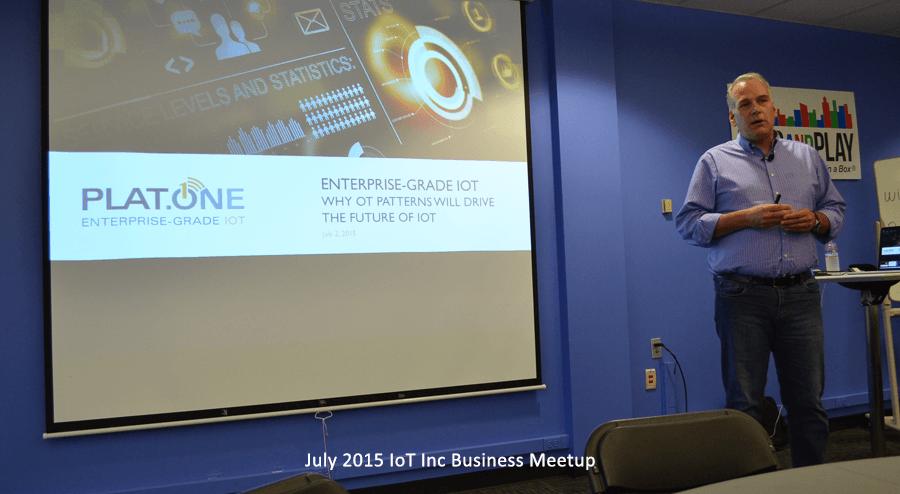 IoT Biz Meetup with Ken Forster of PLAT.ONE
