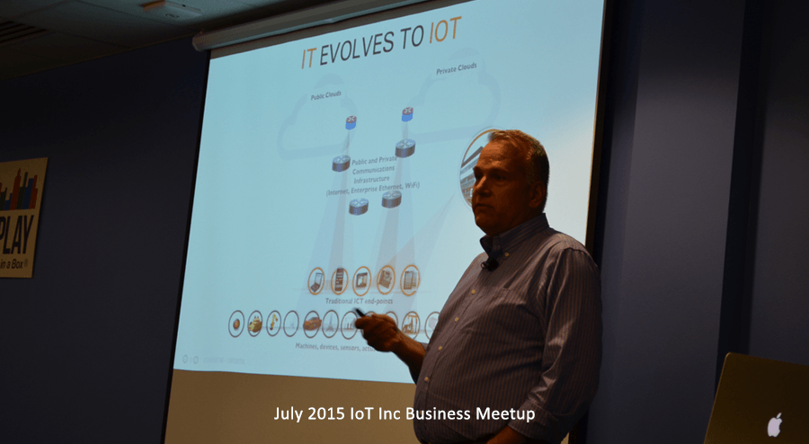 IoT Biz Meetup with Ken Forster of PLAT.ONE