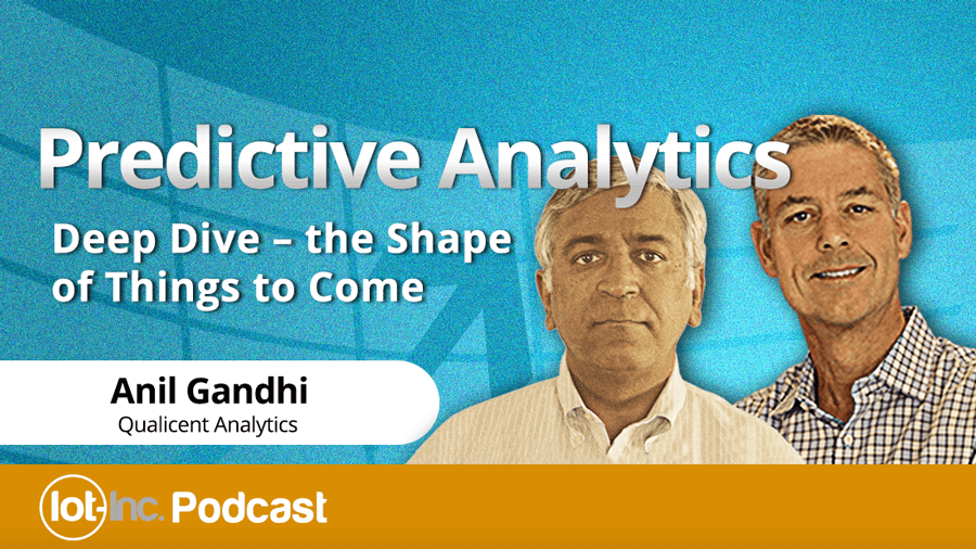 Deep into Internet of Things Predictive Analytics
