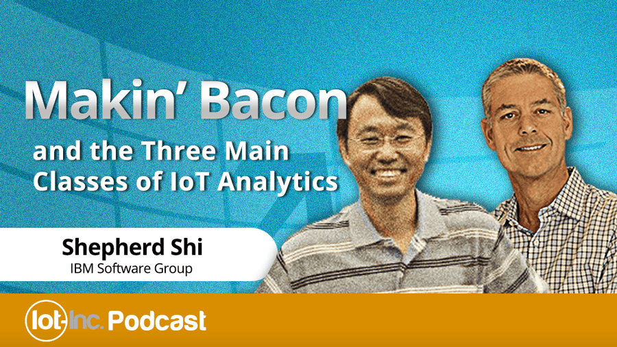Three Main Classes of Internet of Things Data Analytics