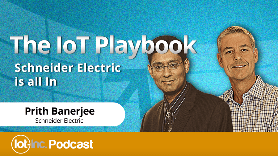 the iot playbook schneider electric is all in image
