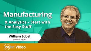 manufacturing & analytics start with the easy stuff