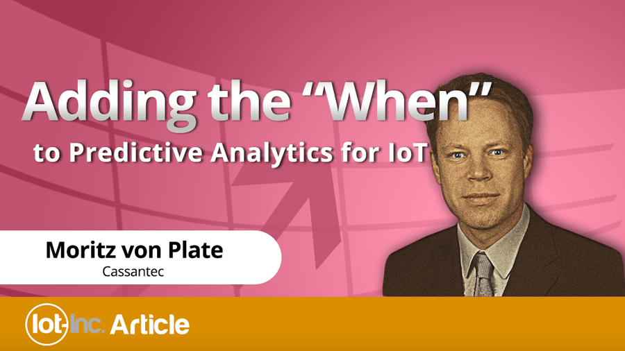 adding the when to predictive analytics for iot image