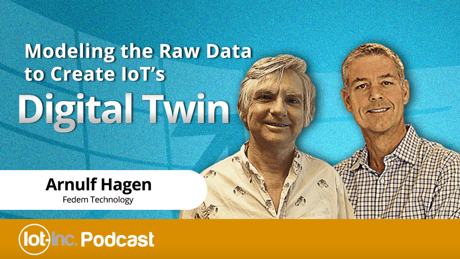 modeling the raw data to create iots digital twin image