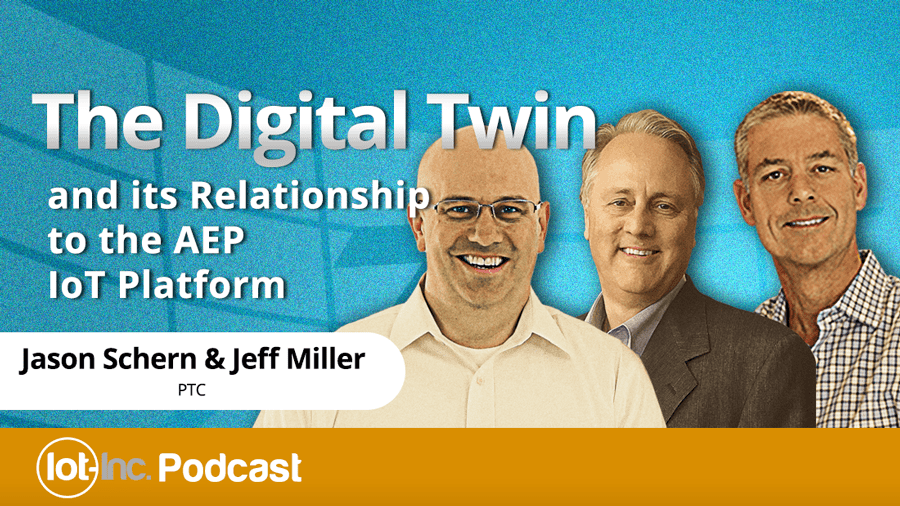 the digital twin and its relationship to the aep iot platform image