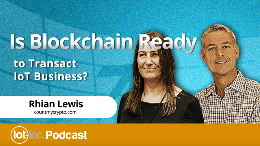 is blockchain ready to transact iot business image